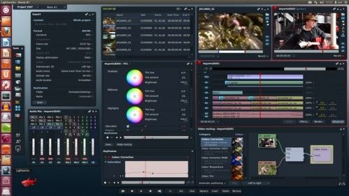 Lightworks 500x281El professional video editor Lightworks now available in open beta