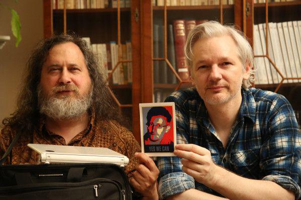 stallman-assange-snoweden