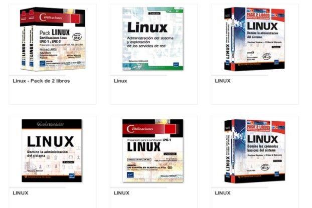 Ediciones ENI, libros Linux