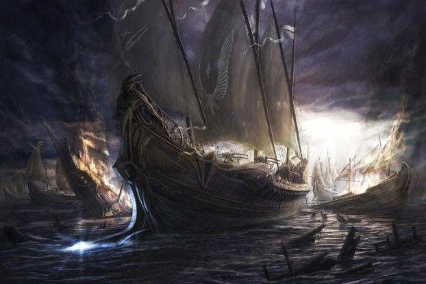 Battle_Ship_by_Radojavor