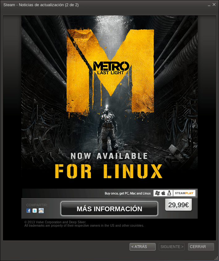 metroforlinux