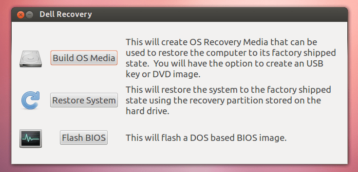 Dell Recovery