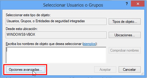 Compartir desde Windows alternativo