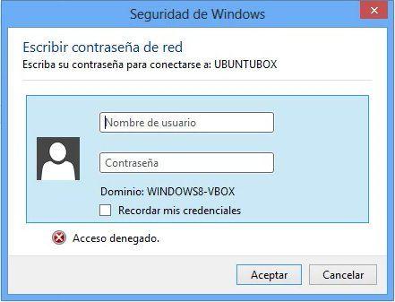 Autenticando desde Windows