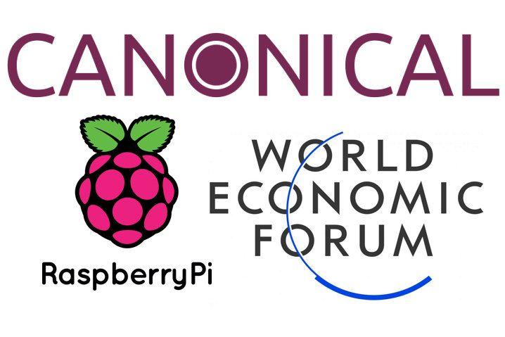 Canonical, Raspberry Pi y Foro Económico Mundial