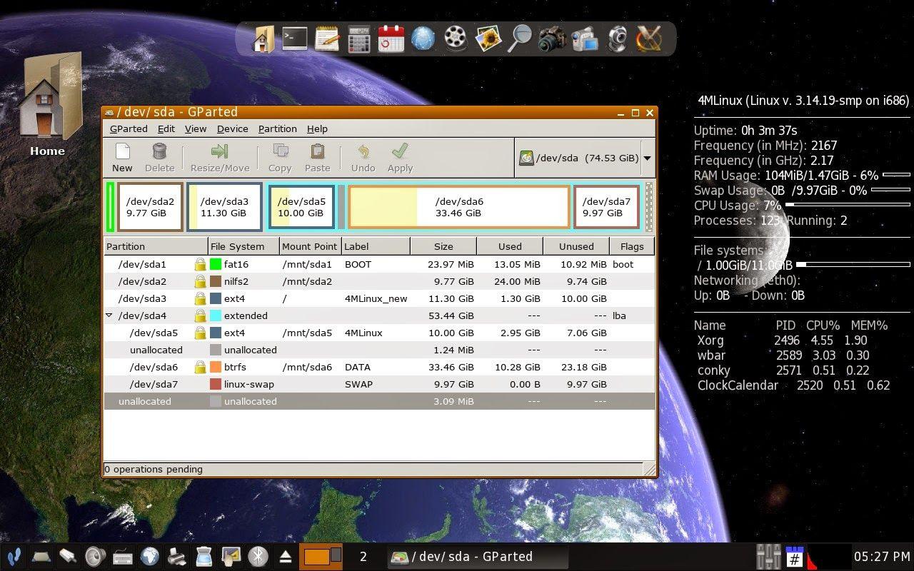 4MLinux 10.1
