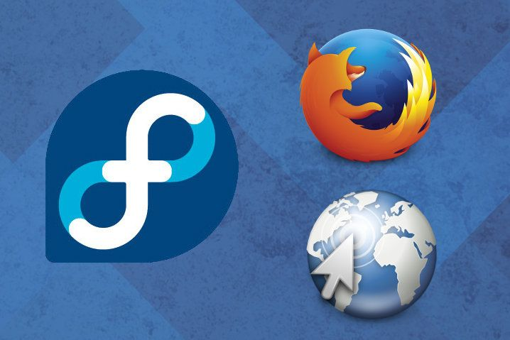 Fedora, Mozilla Firefox y Epiphany-Web