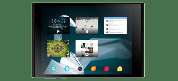 Propiedad multitarea de la tablet Jolla