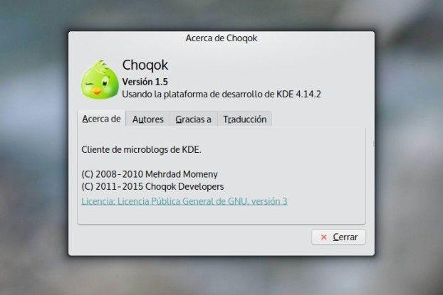 choqok 1.5