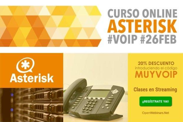 Curso Online de Asterisk VoIP