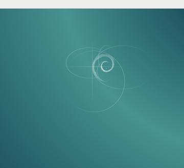 Cómo se ve por defecto Debian 8 Jessie con XFCE