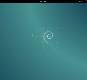 Debian 8 Jessie con GNOME Shell 1