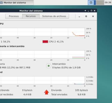 Debian 8 Jessie recientemente arrancado en mi netbook con XFCE