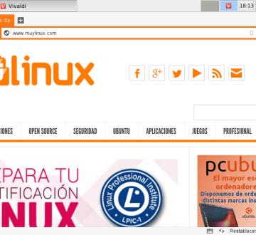 MuyLinux en Vivaldi y Debian 8 Jessie