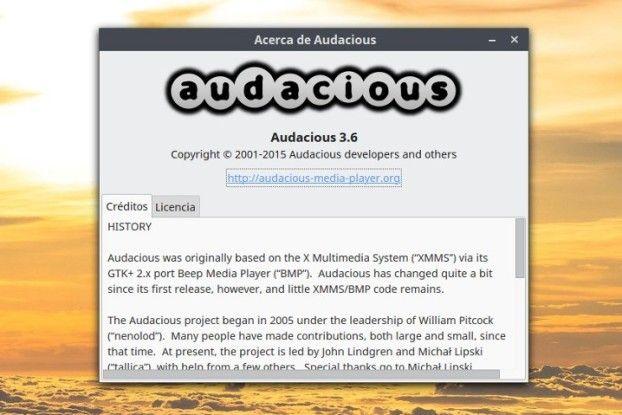 audacious 3.6