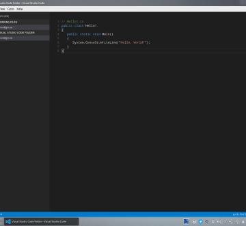 Visual Studio Code sobre Kubuntu 14.04