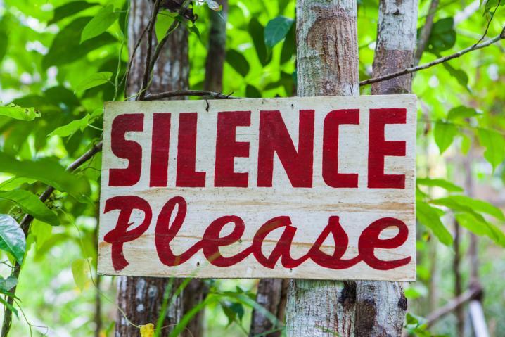 silenciar