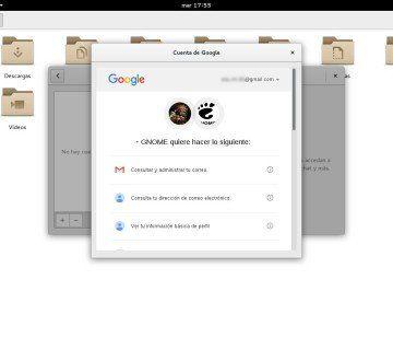 01 Integrar Google en GNOME Shell