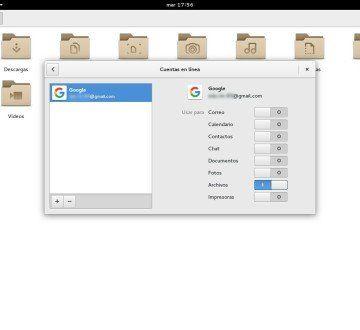 03 Integrar Google en GNOME Shell