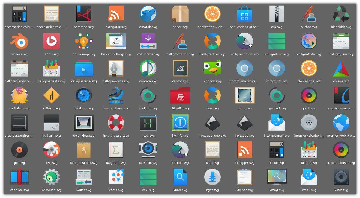 breeze-icons