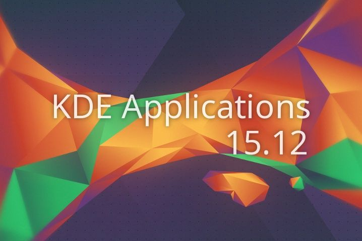 KDE Applications 15.12