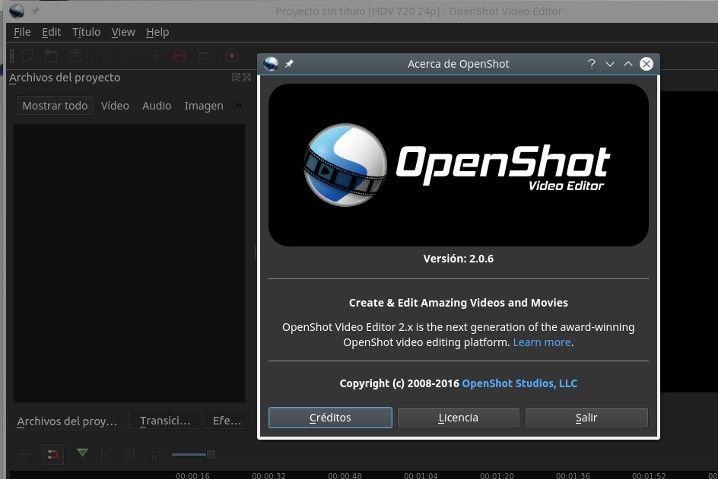 Disponible la beta de OpenShot 2.0, la migración a Qt toma forma