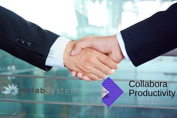 Kolab Systems y Collabora Productivity se unen para competir con Office 365 y Google Docs