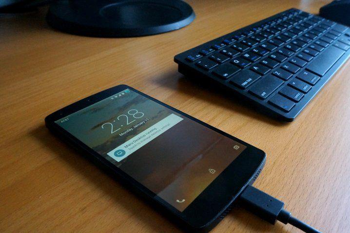 Maru, el sistema que es Android en el móvil y Debian para el escritorio