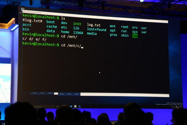 Ubuntu Bash sobre Windows 10