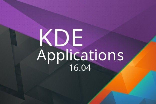 KDE Applications 16.04 ya está entre nosotros