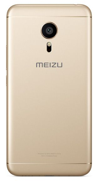Meizu Pro 5 Ubuntu Edition parte trasera