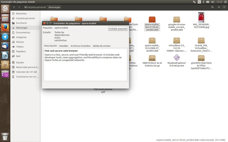 Recurrir a GDebi en Ubuntu 16.04 LTS es fundamental
