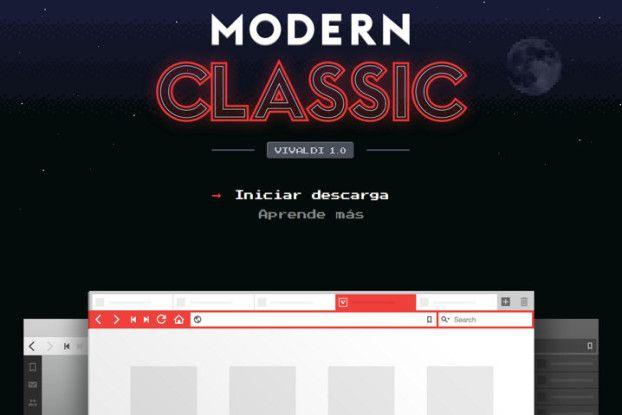 El navegador Vivaldi lanza su primera versión estable