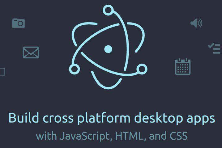 Disponible Electron 1.0, un framework para crear webapps para el escritorio