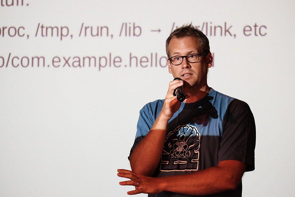 Alexander Larsson, creador de Flatpak