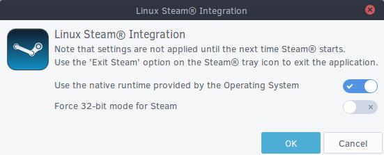 Linux Steam Integration de Solus 1.2