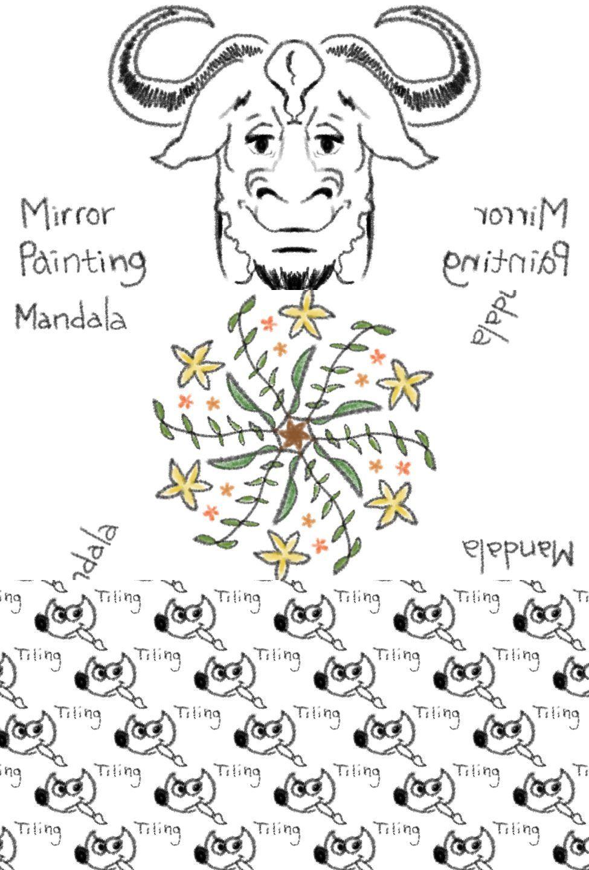 Simetría en GIMP 2.9.4