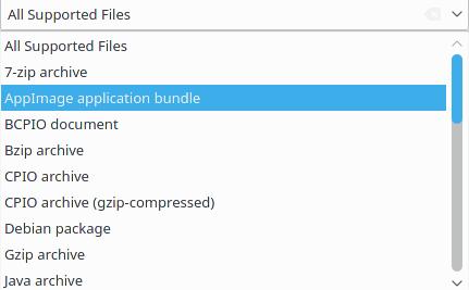Nuevos formatos de compresión soportados por Ark 16.08