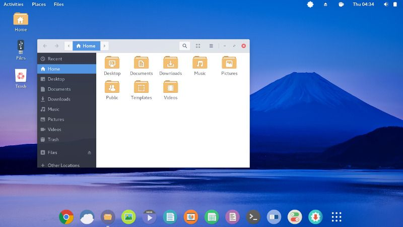 Apricity OS estable con GNOME