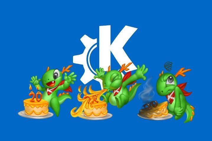 20 aniversario KDE