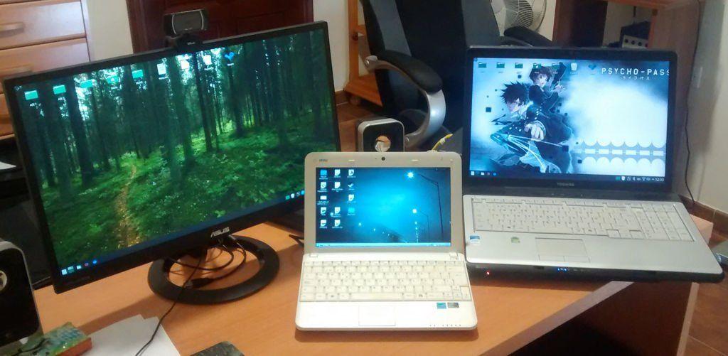 Mis ordenadores con KDE