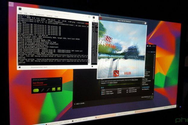 Valve utiliza Kubuntu para las demostraciones de HTC Vive