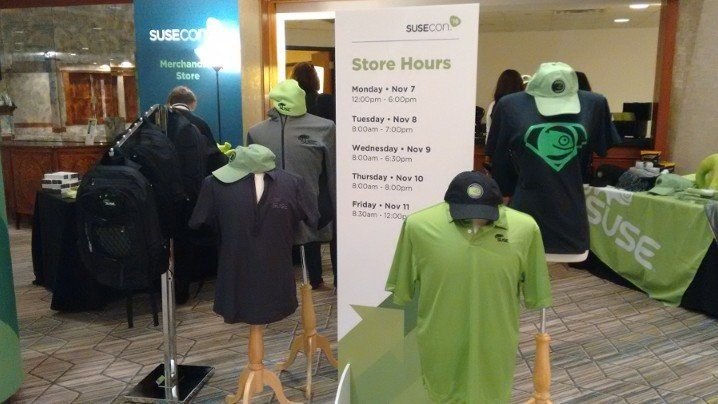 merchandisign en susecon