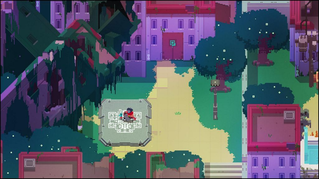 Pueblo de Hyper Light Drifter