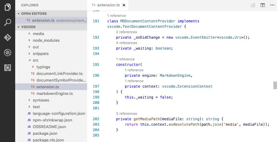 06 CodeLens TypeScript