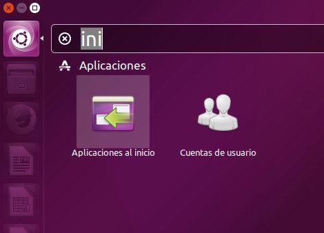 Abrir Aplicaciones de inicio en Ubuntu