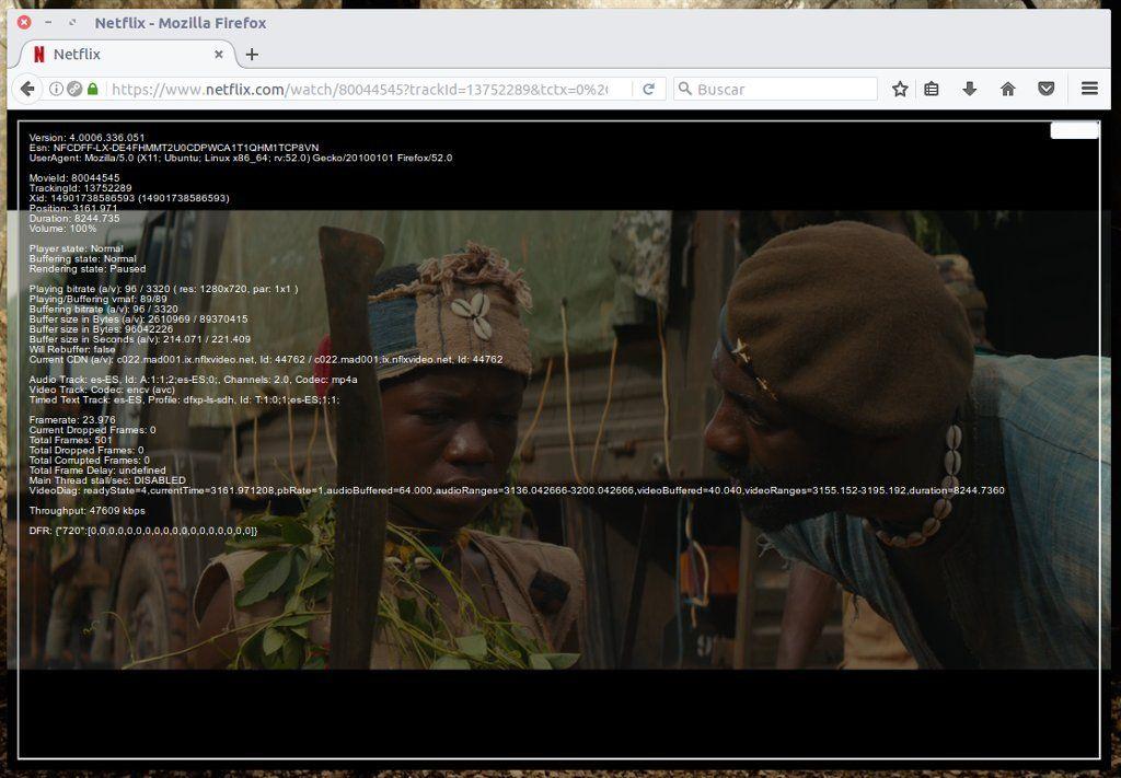 Netflix en Firefox