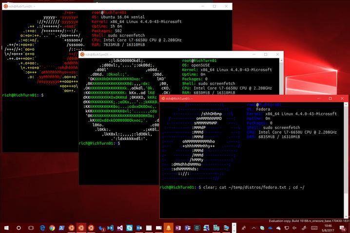Ubuntu llega a la Windows Store y los subsistemas de Fedora y openSUSE están en camino
