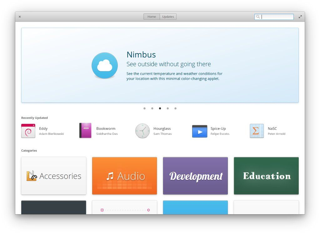 AppCenter elementary OS Loki