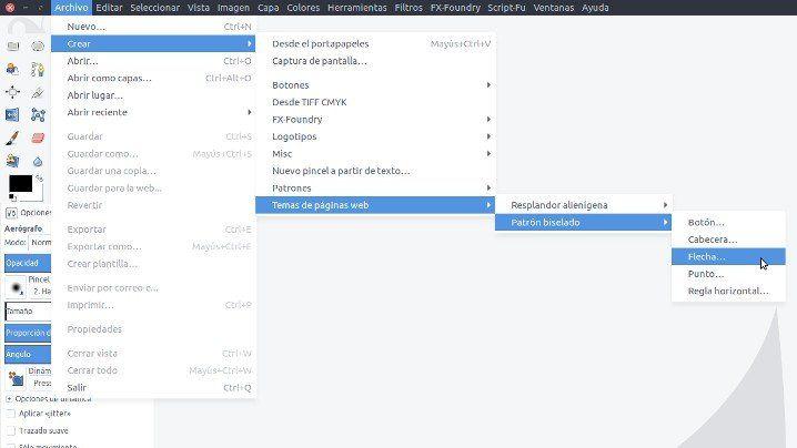 gimp_menu